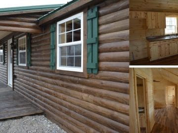 Lincoln Cabin Collage