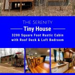 Serenity tiny home collage