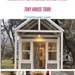 Cottage farmhouse on wheels collage