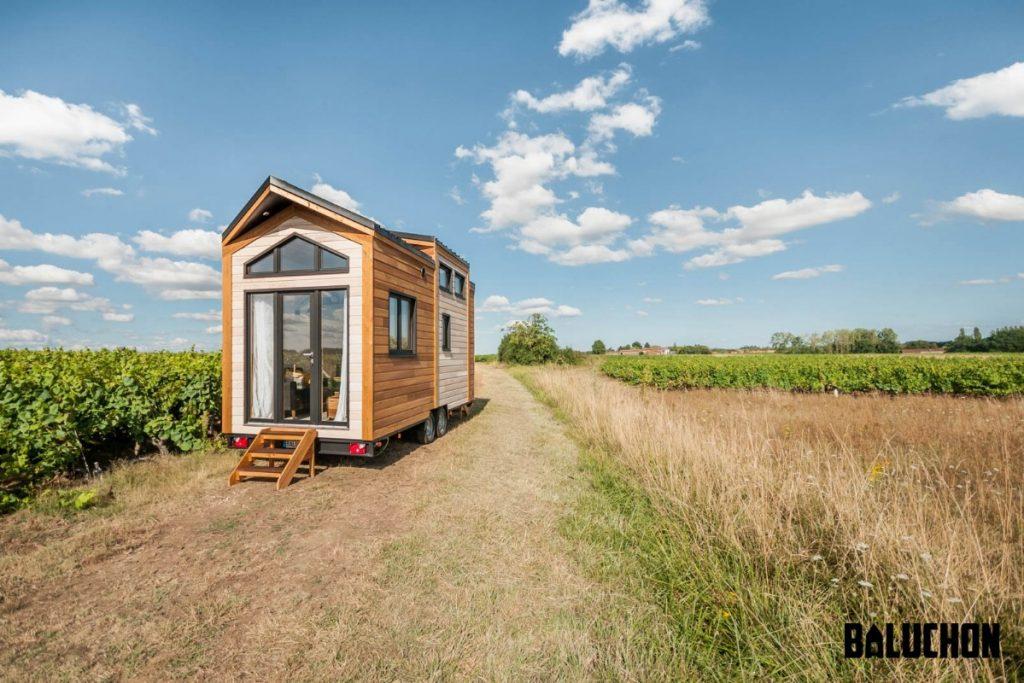 Epona tiny house in field