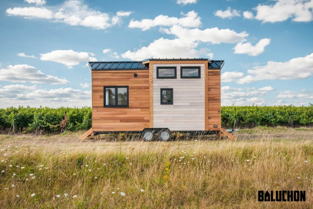 Epona tiny home in field