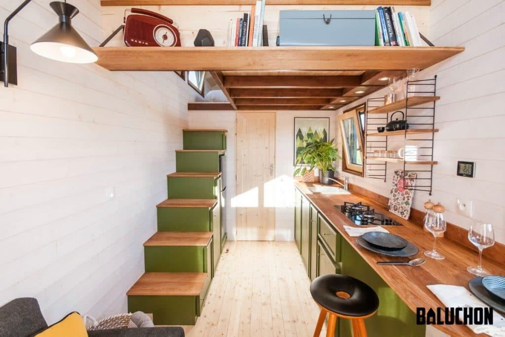 View into loft