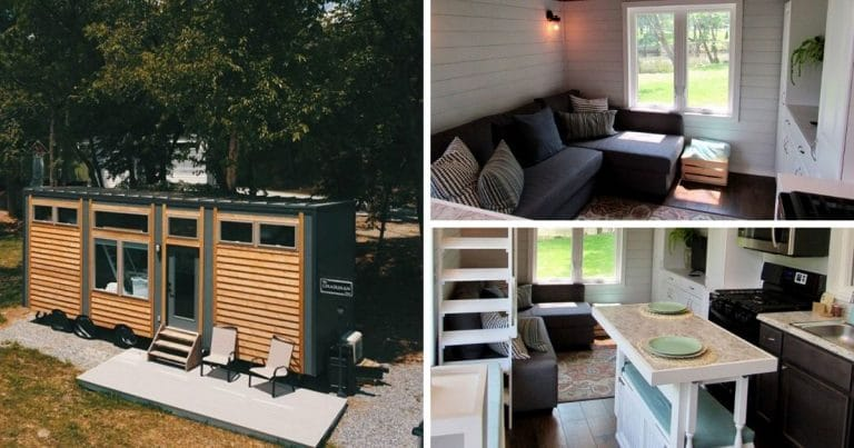 The chairman tiny house collage