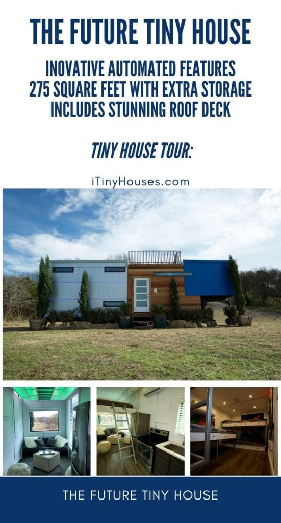 The future tiny house collage