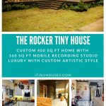 The Rocker tiny house collage