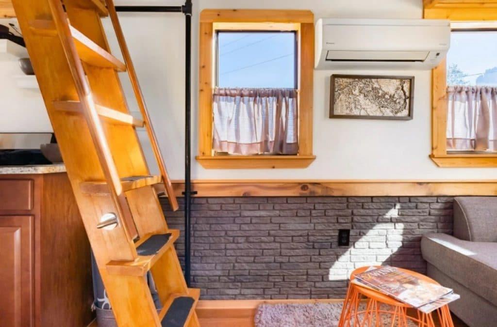 Ladder to loft