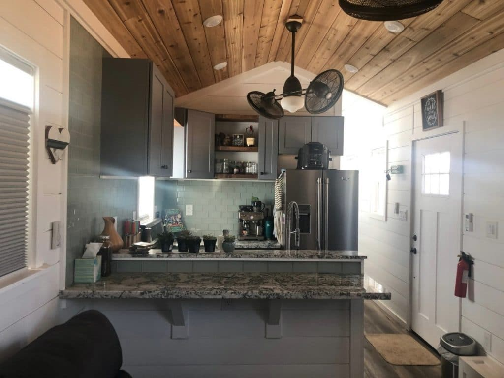 Titan kitchen counter