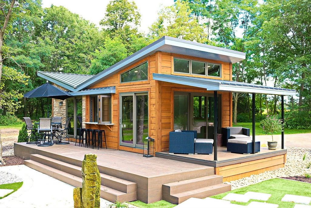 Valley forge tiny home with deck