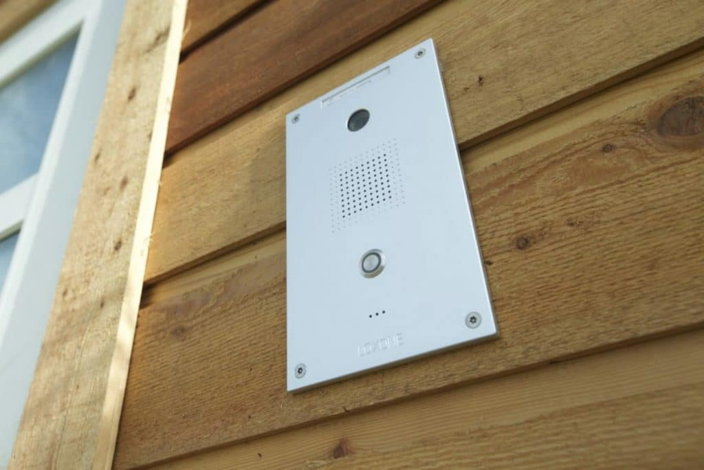 Intercom system for tiny house