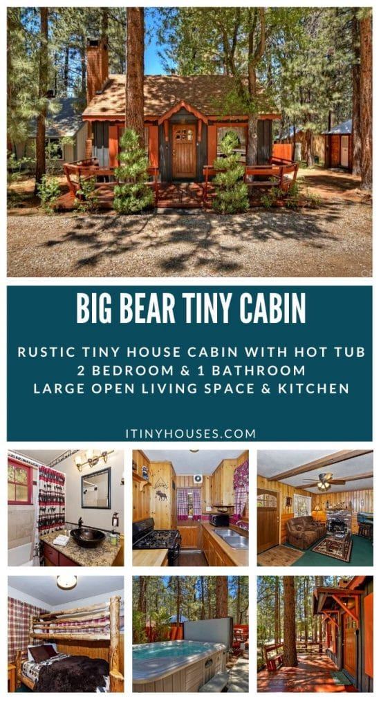 Big Bear cabin collage