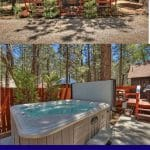 Big Bear cabin collage