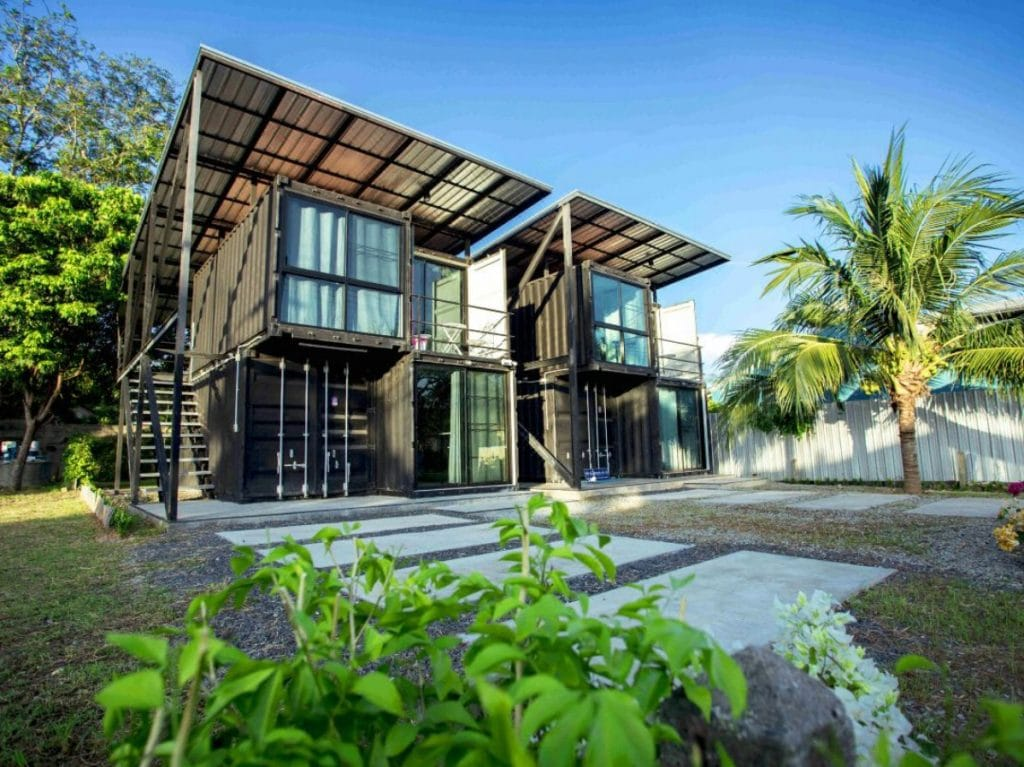 Front of Phuket container loft