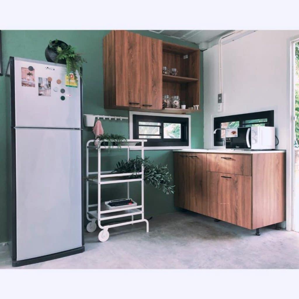 Phuket container loft kitchen