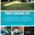 Phuket container loft collage