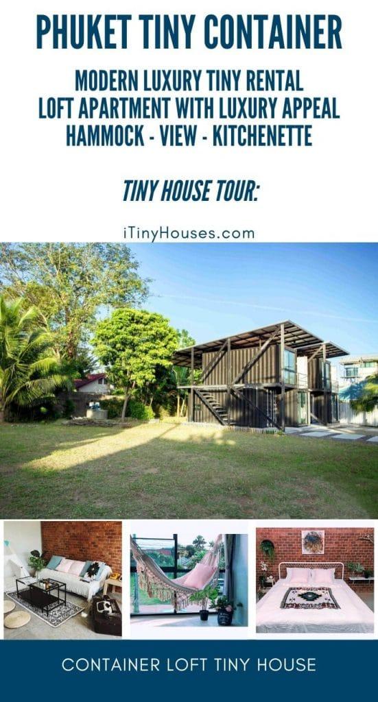 Phuket container loft collage