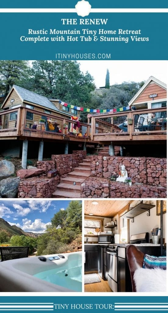The Renew tiny house collage