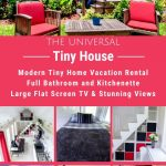 The Universal tiny home collage