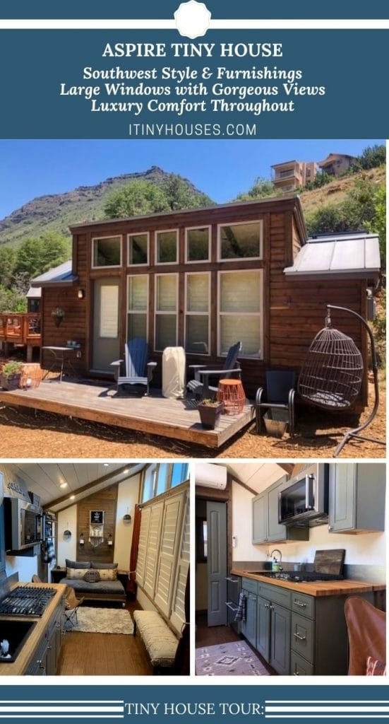Aspire tiny house collage