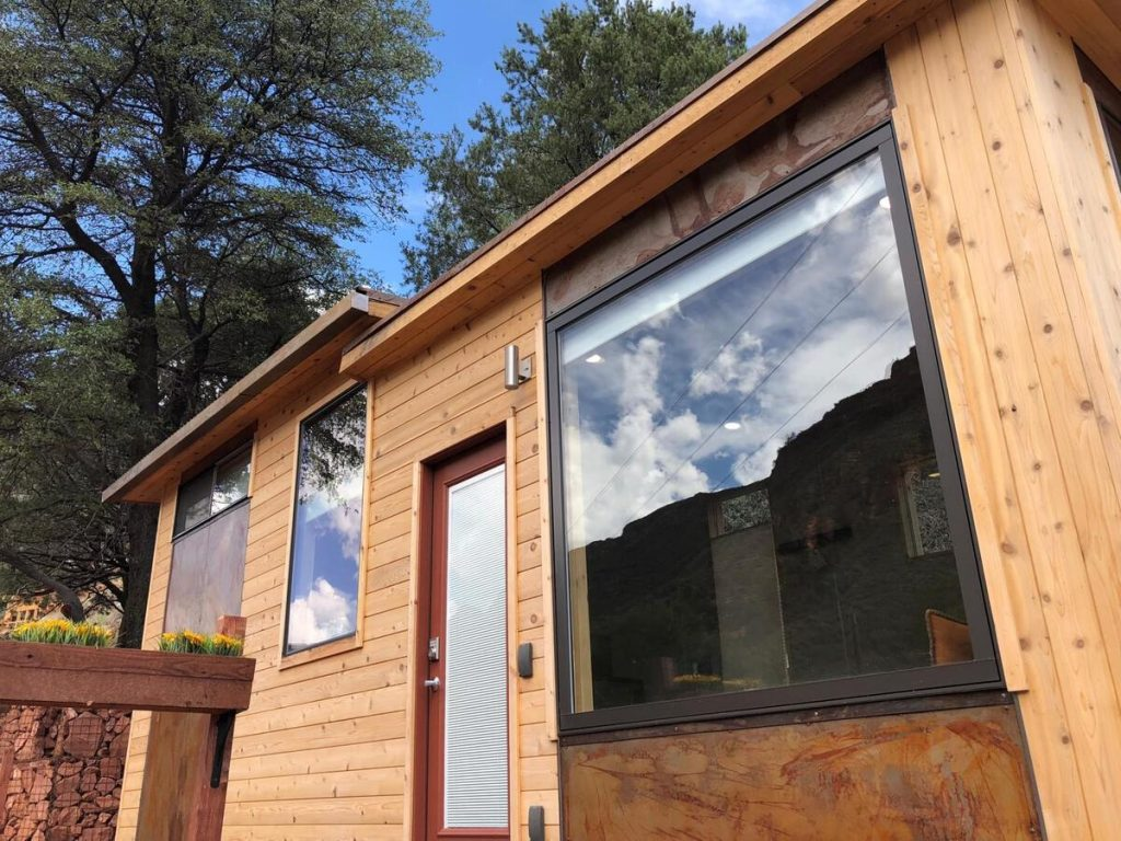 Windows on Breathe tiny house