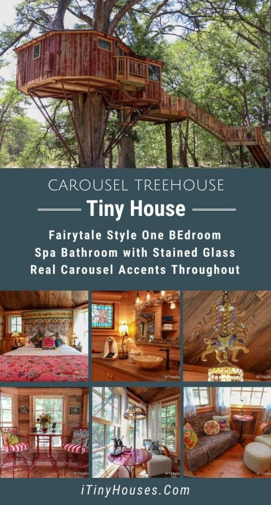 Carousel Treehouse Collage