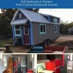Casa de lux tiny house collage