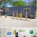 Costa Rica shipping container collage