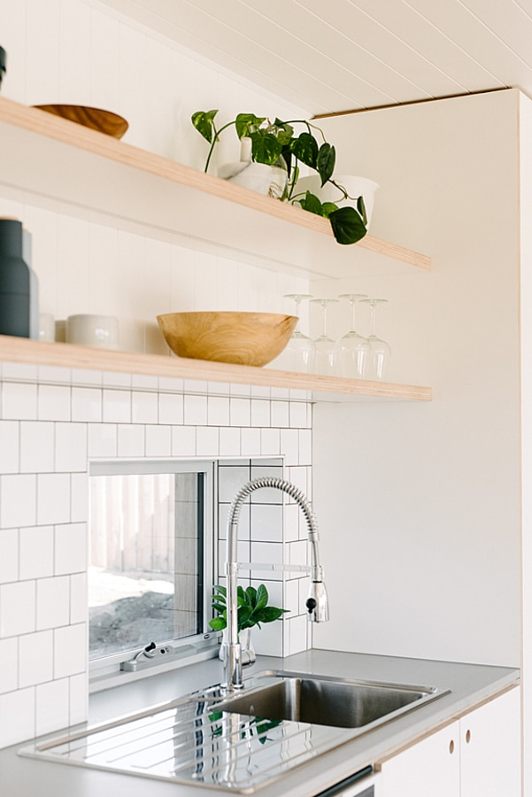 Window over kitchen sink