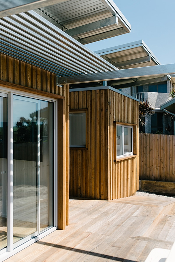 Container home exterior