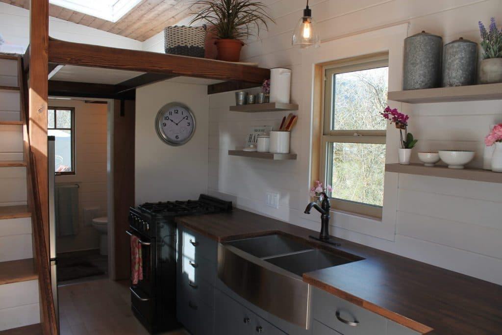 Tiny house kitchen