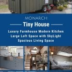 Monarch tiny house collage