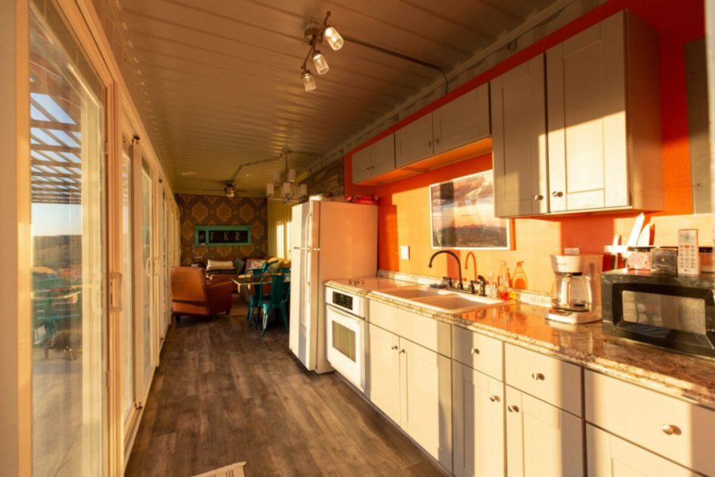 Container galley kitchen