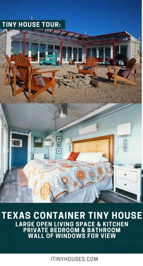 Texas Container home collage