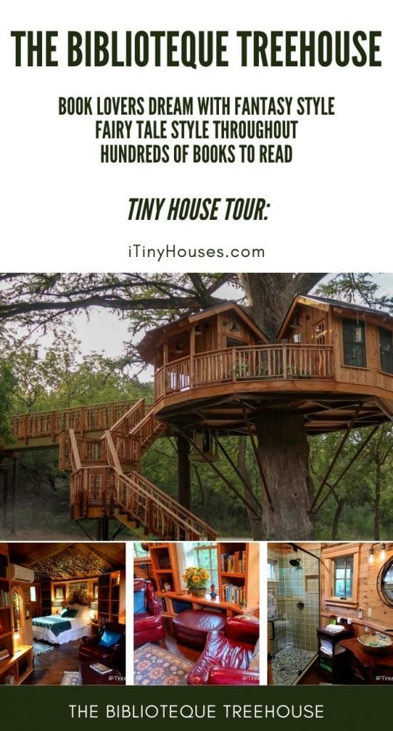Biblioteque treehouse collage