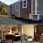 The Estate tiny house collage