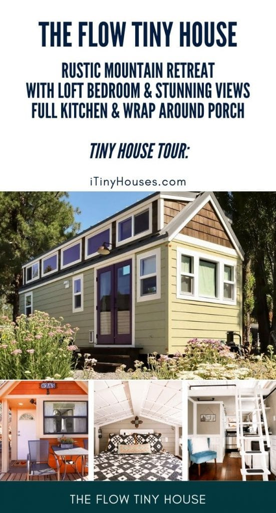 The flow tiny house collage