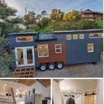 The Lux Tiny House Collage