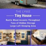Lykke tiny house collage