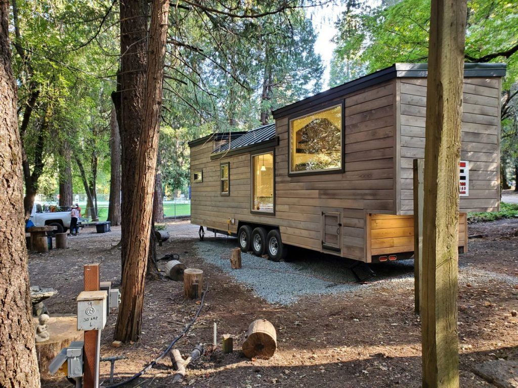 The napa tiny house on lot