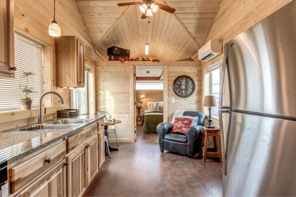 Tiny houseliving space