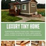 Luxury farmhouse collage