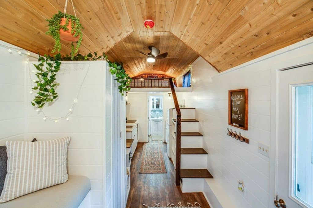Stairs to loft space