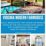 Virginia Rental Tiny House Collage