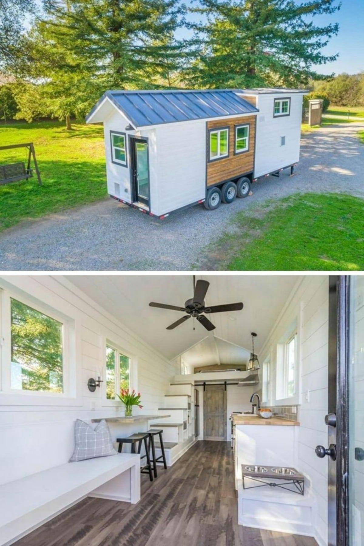 The Tack Tiny House from Anchored Tiny Homes