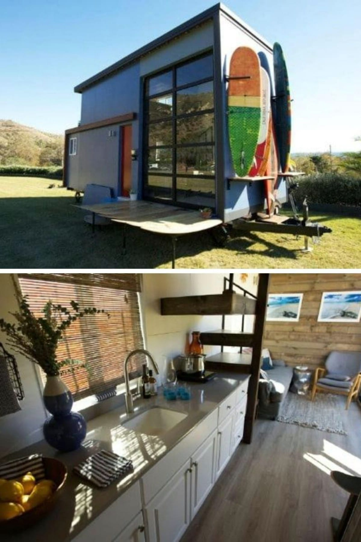 Tiny House Nation Surfer House