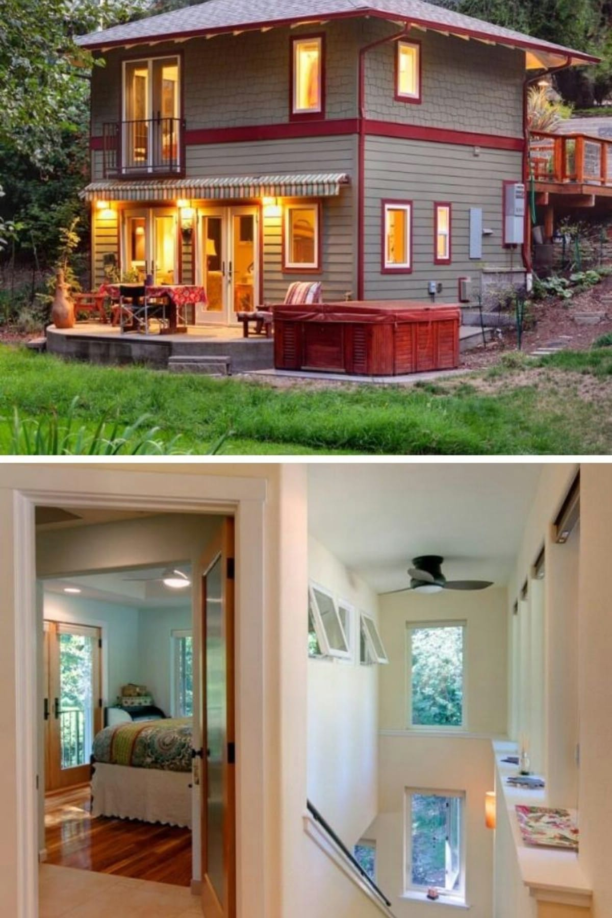 Two-Story Oregon Tiny House