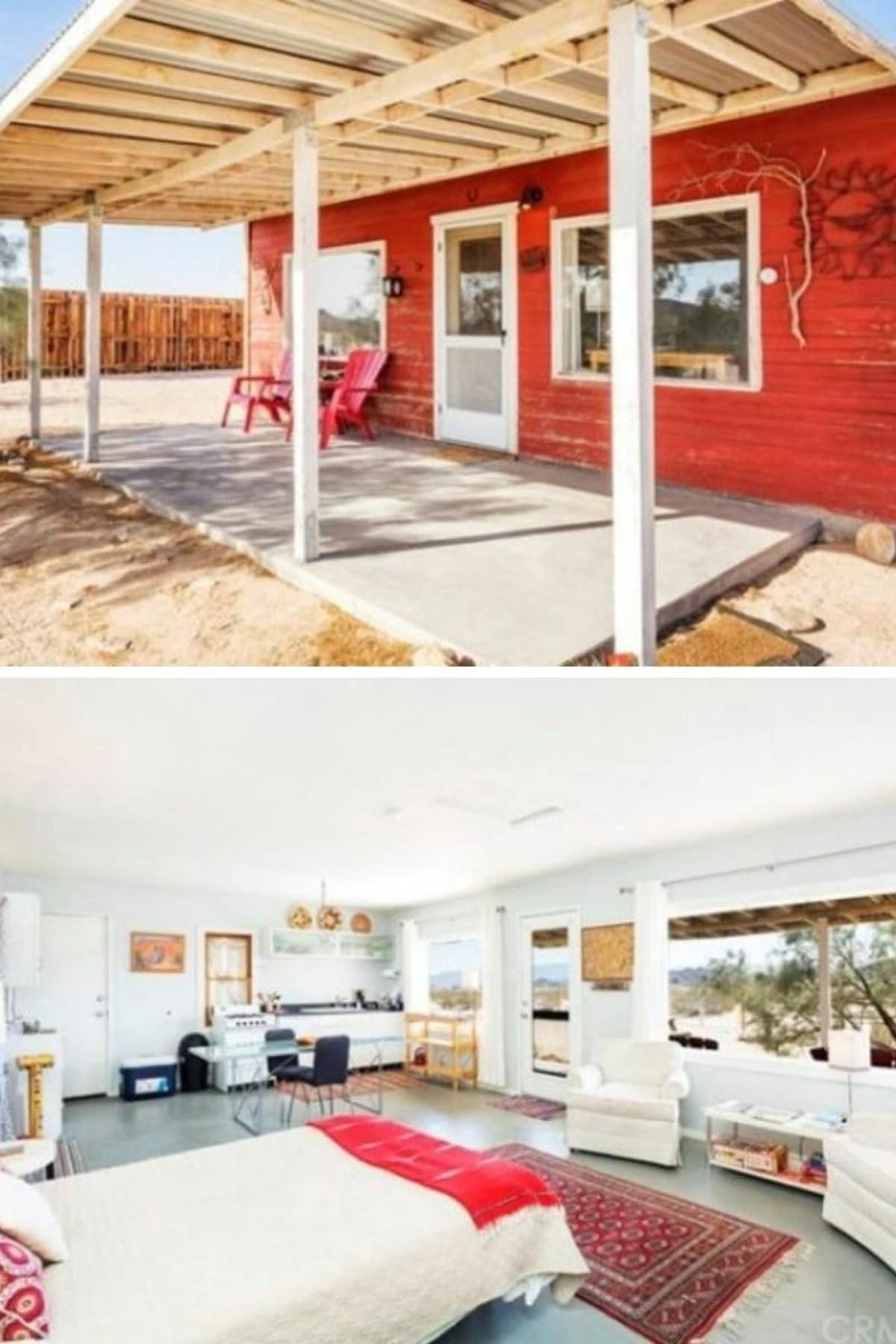 Joshua Tree, CA Tiny House With Open Floor Plan