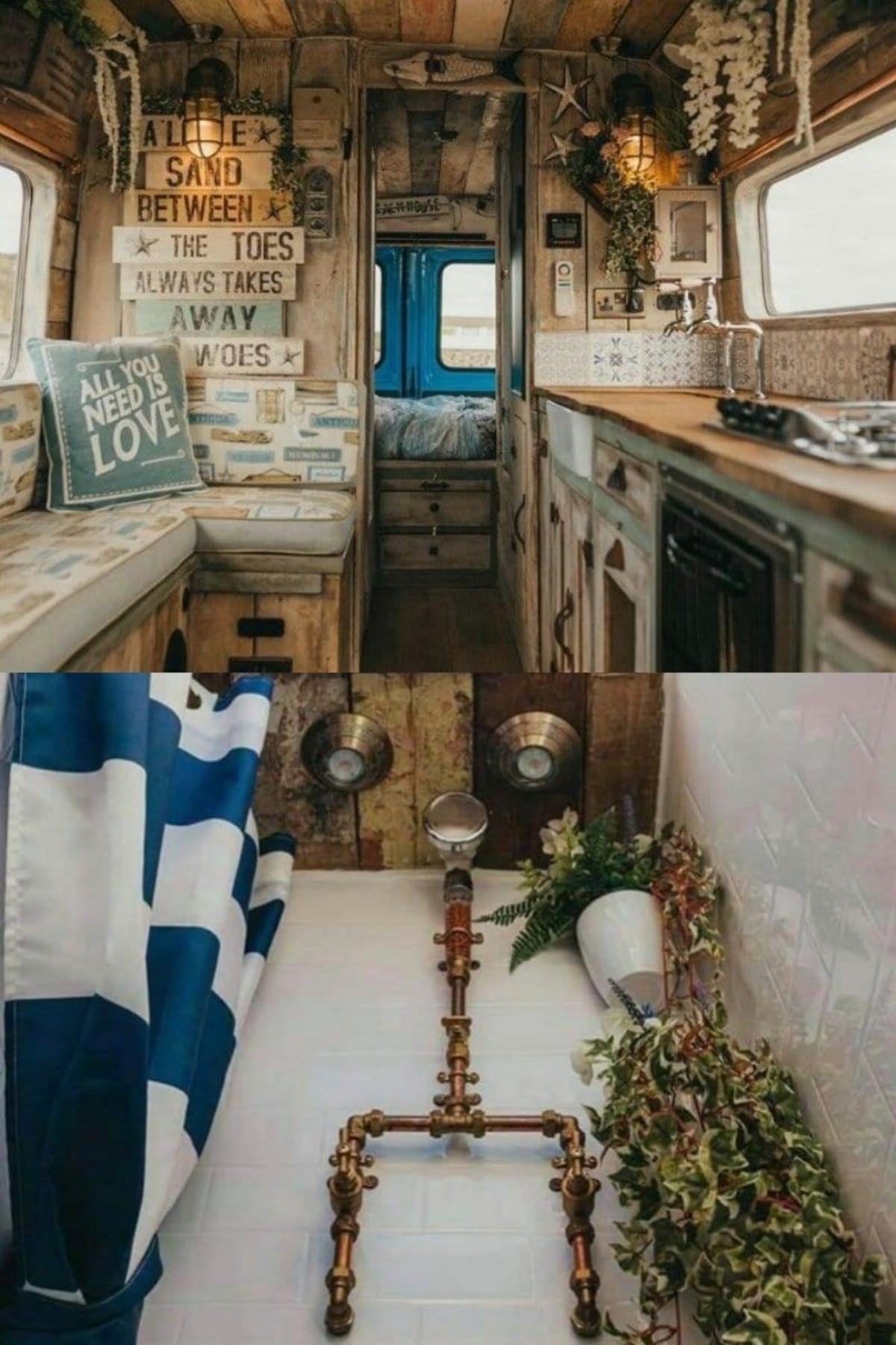 Ernie's Tiny House In A Van