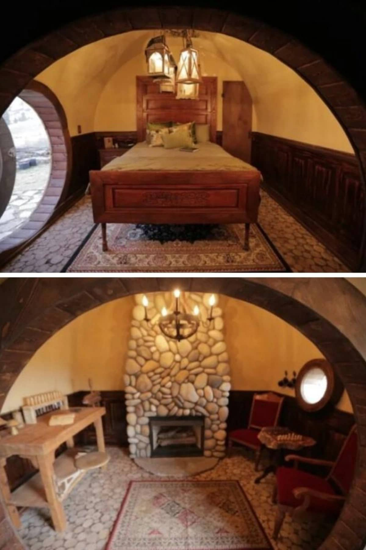Hobbit Hole Tiny House