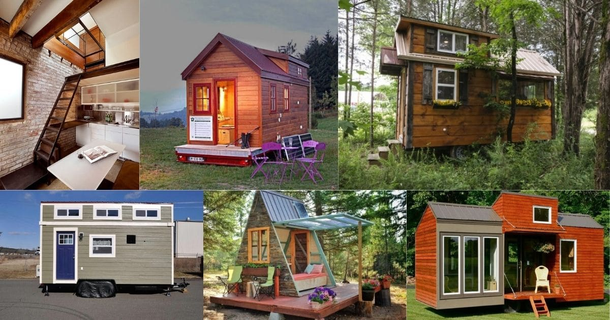 20 Space-Efficient Tiny Houses Under 200 Square Feet