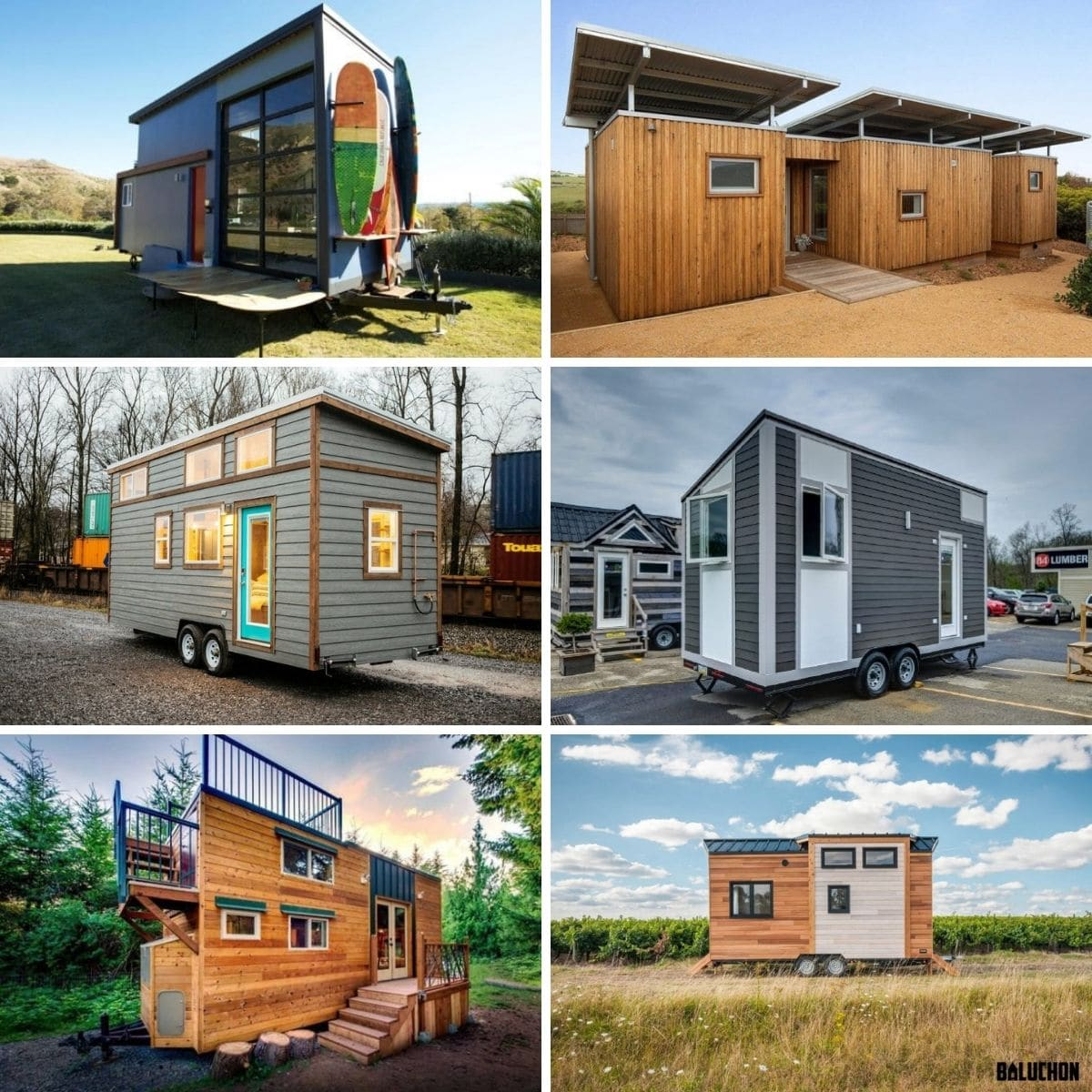 Big storage tiny houses.